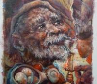 Lyonel Laurenceau painting