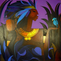 Taino Indian by Bernard Sejourne