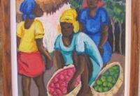 Haitian Art Oil Painting