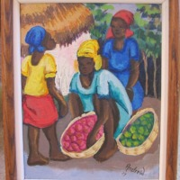 Haitian Art Oil Painting