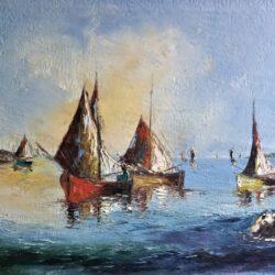 """Raoul Viard """"Les Voiliers"""""""