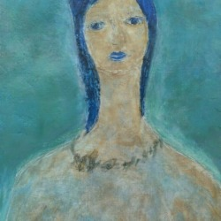 """""""Arijac"""" Harry Jacques – Woman (Encaustics)"""